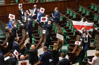 Sejm przyjął uchwałę ws. sytuacji na Białorusi