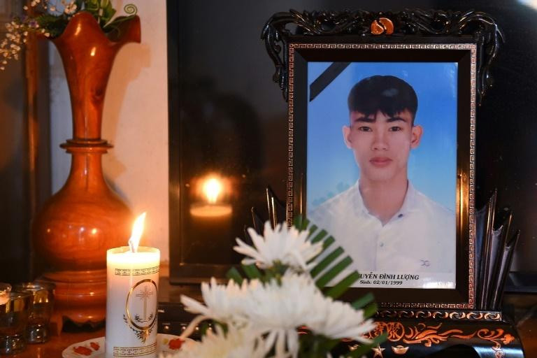 Nguyen Dinh Luong had been living in France since 2018 where he worked as a waiter