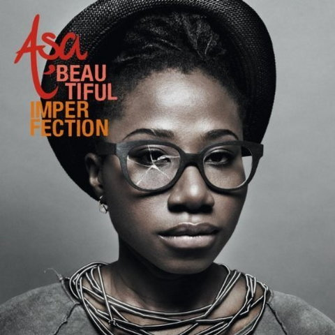 Cover art for Asa's sophomore album, 'Beautiful Imperfection.'(360nobs)