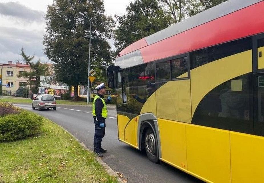 Kierowca autobusu był nietrzeźwy