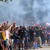 LUDNICA ISPRED NOU KAMPA! Ovo Barselona ne pamti od početka pandemije, grad se digao na noge zbog meča za titulu! /VIDEO/