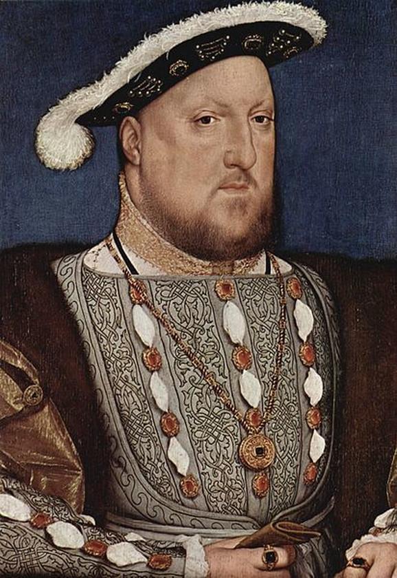Henri VIII je živeo u paničnom strahu od