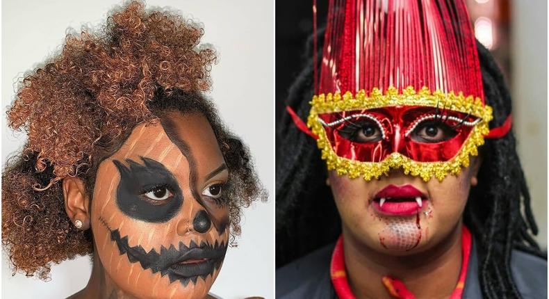 Halloween inspired makeup by Kenyan artists 2019