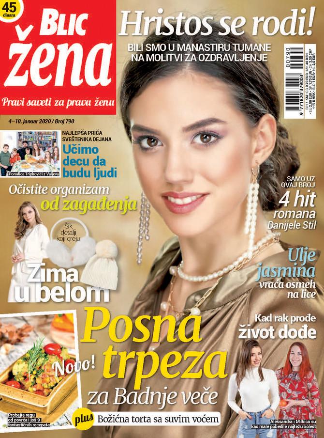 """Nova """"Blic žena"""" na kioske stiže u subotu 4. januara"""