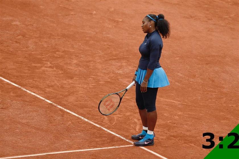 Serena Williams przegrała z Garbine Muguruzą w finale French Open!