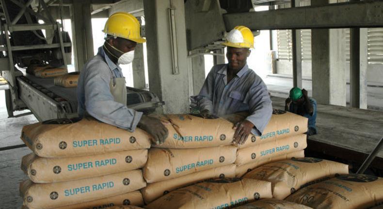 Cement production
