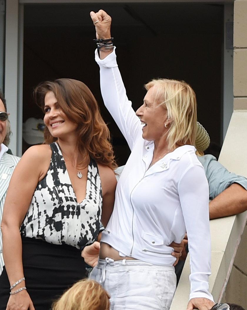 Navratilova się oświadczyła!