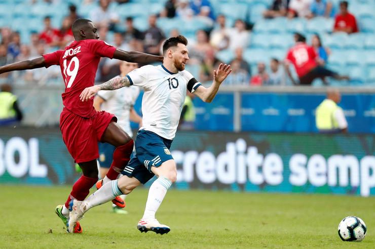 Fudbalska reprezentacija Katara, Fudbalska reprezentacija Argentine