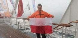 Polak przepłynął kilometr na Antarktydzie!