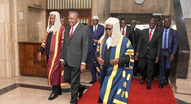 I am under pressure to sack people - Uhuru says during State of the Nation Address
