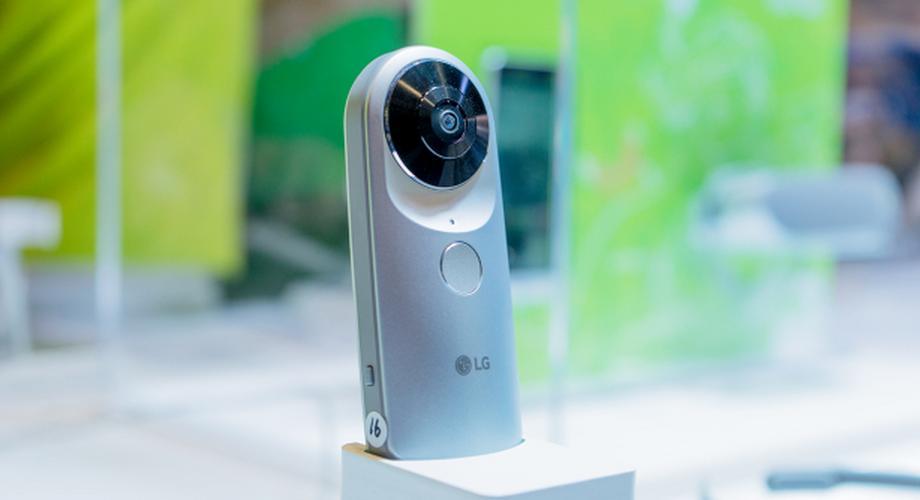 Hands-on: 360 CAM – LG Electronics' sphärische Kamera