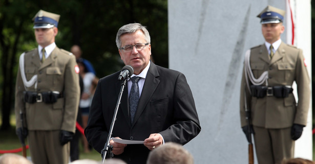 Bronisław Komorowski na Wołyniu