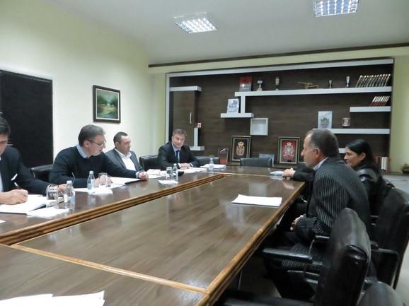 Vučić razgovora sa građanima