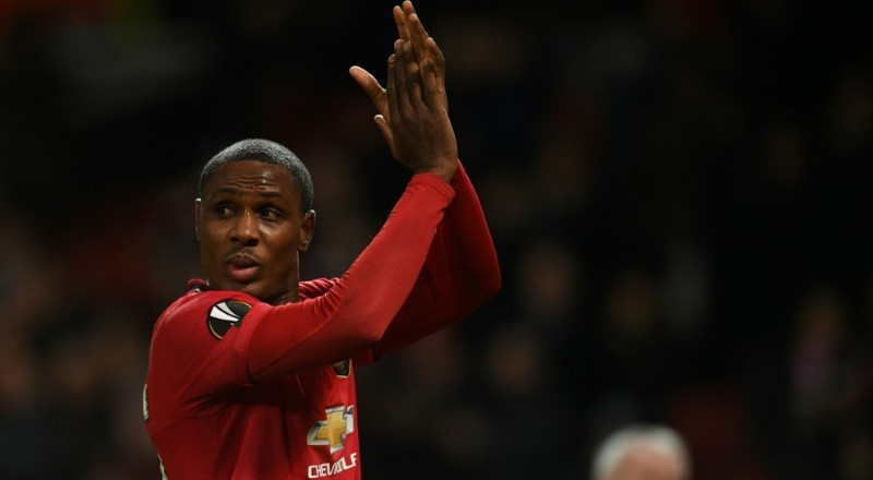 Manchester United striker Odion Ighalo has been linked with a move to Paris Saint-Germain