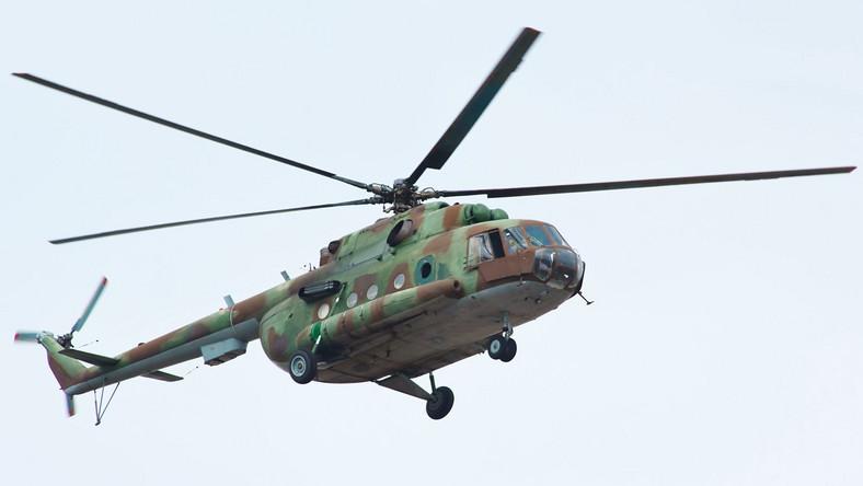 Rosyjski śmigłowiec MI-8