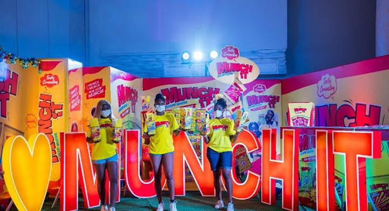 Munch It reinforces affinity to music entertainment at the 14th Headies