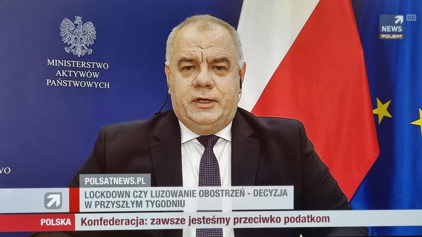 Jacek Sasin skomentował spór w Porozumieniu