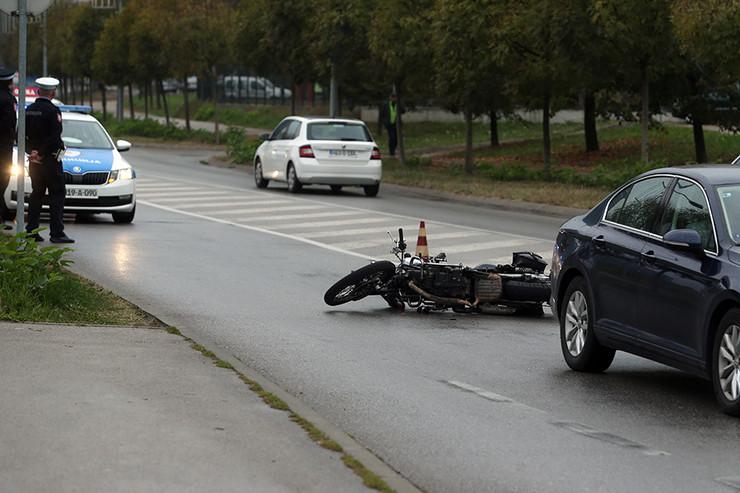 motor-saobraćajna nesreća