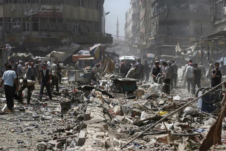 Damask u ruševinama