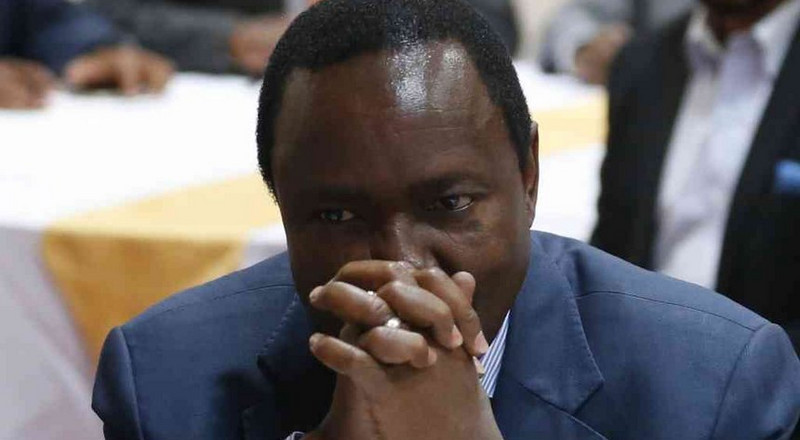 Kalonzo presents himself to DCI