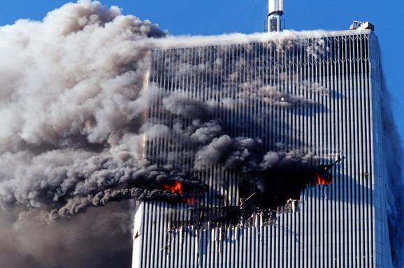 Udar dva aviona u zgrade Svetskog trgovinskog centra