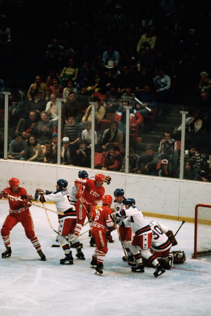 USA Vs. USSR Hockey Game