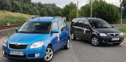 Skoda Roomster kontra Dacia Logan MCV: drożej nie zawsze znaczy więcej