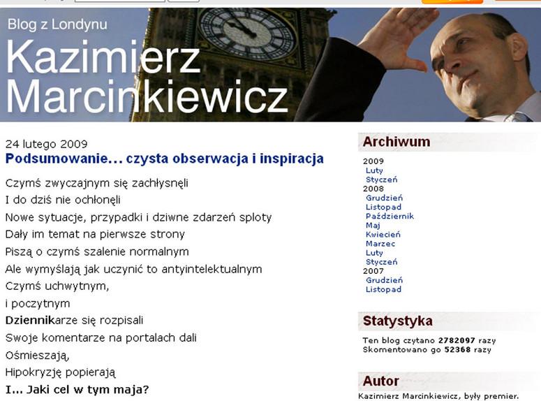 Oto Kolejny Wiersz Partnerki Marcinkiewicza Opinie