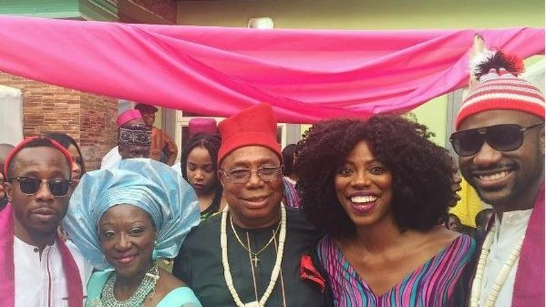 Yvonne Orji shares this photo with her family