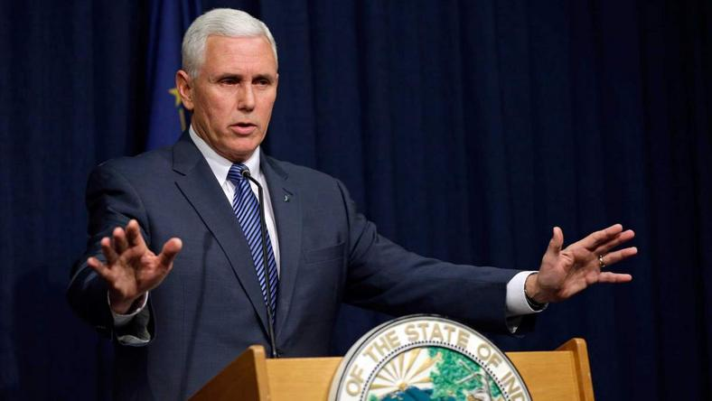 Governor of Indiana, United States, Mike Pence