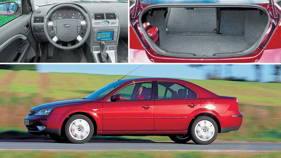 8. Ford Mondeo II (2000-07)