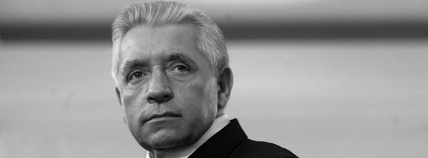 Andrzej Lepper. Fot. Wojciech Grzędziński/Newspix.pl
