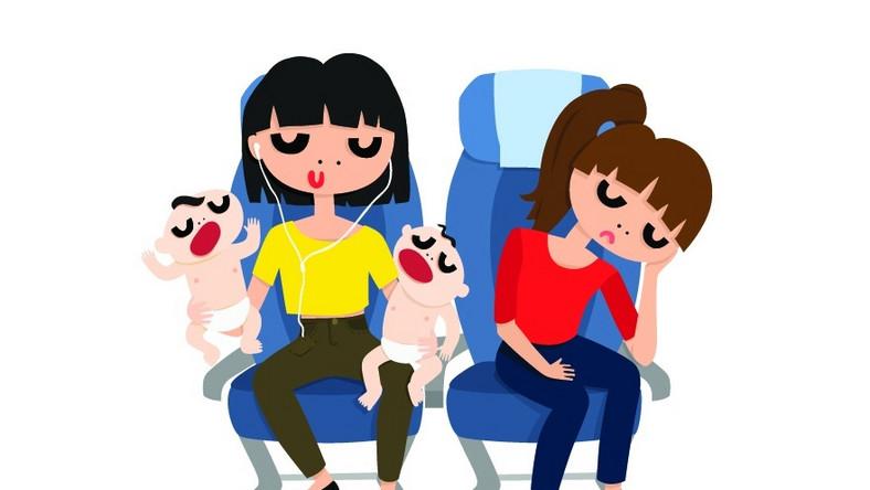 Jak przetrwać podróż z płaczącym maluchem?