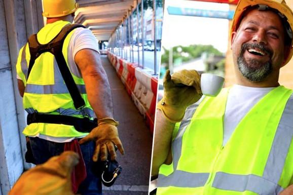 """Svi pričaju o građevinskom radniku koji je """"tako lako"""" postao influenser, a sada je otkriveno da je sve bila PREVARA (FOTO)"""