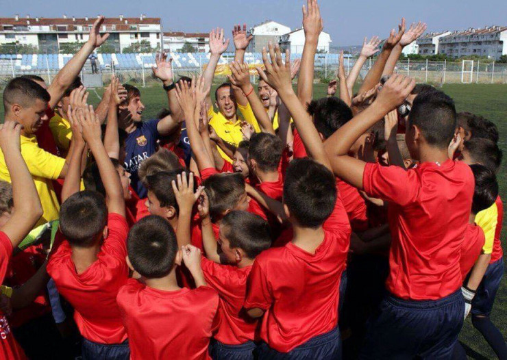 Kamp FK Barselona, Novi Sad