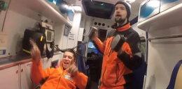Ratownicy nagrali teledysk do słynnego przeboju