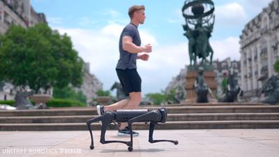 Unitree Go1 – oto 25-krotnie tańsza alternatywa dla robota Spot od Boston Dynamics