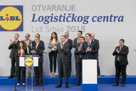 Sa otvaranja logističkog centra pre dva meseca