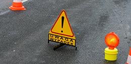 Groźny wypadek pod Warszawą. Poważnie ranne dziecko
