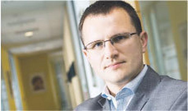 Marcin Chomiuk, dyrektor w PricewaterhouseCoopers Fot. Wojciech Górski