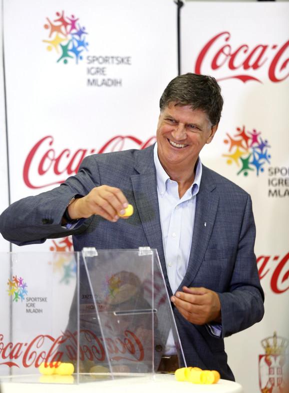 Žarko Zečević, potpredsednik Olimpijskog komiteta Srbije