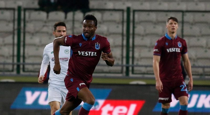 Mikel Obi's contract with Turkish club Trabzonspor terminated after he refused to play over the fear of coronavirus