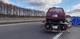 Tragedia niedaleko Gorzowa. Wysiadł z taksówki, potrącił go samochód
