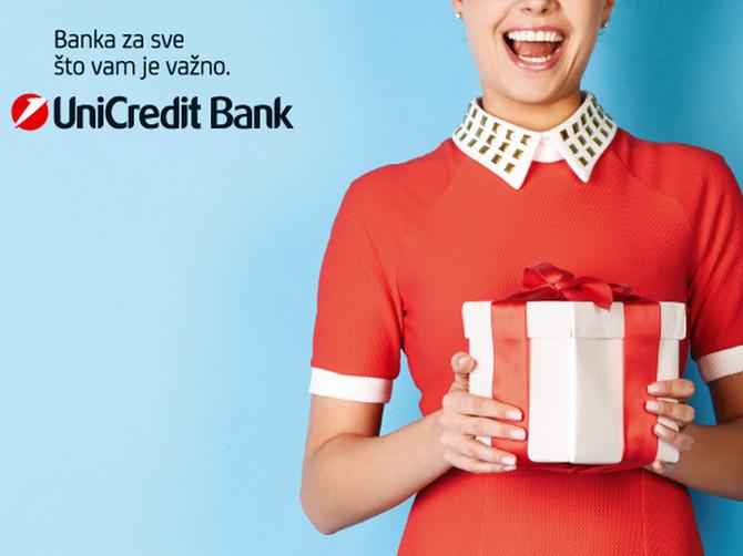 Savršeno iznenađenje za najradosniji period godine: Poklon kartice UniCredit Banke