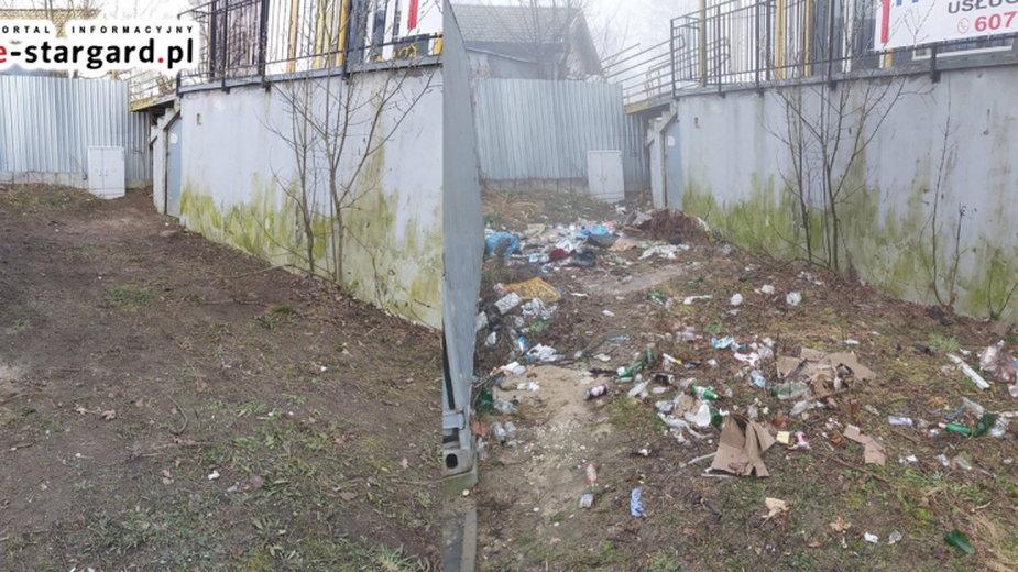 Śmieci w miejscach publicznych to problem każdego dużego miasta
