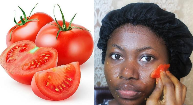 Tomato treats every skin blemishes [Wikihow]