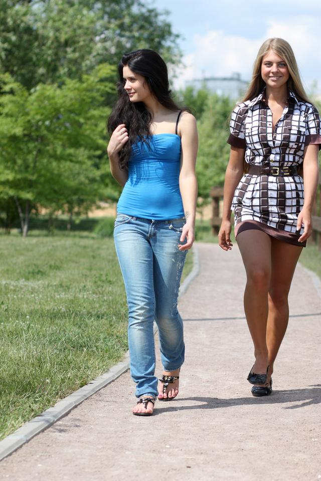 Русские красотки гуляют по полной