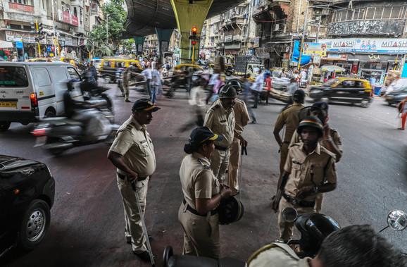 Indijska policija na ulicama nakon objavljivanja odluke suda