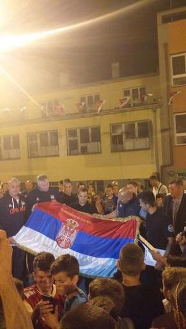 Danilović, Đorđević i Tomašević u poseti Leposaviću