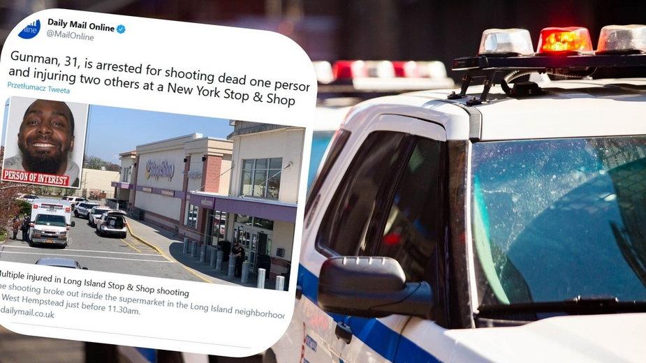 USA: Strzelanina na Long Island. Jedna osoba zginęła, dwie zostały ranne